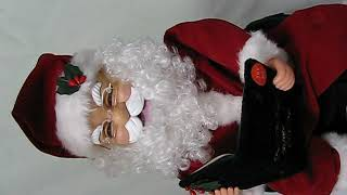 T'was The Night Before Chistmas Animated Storytelling Santa