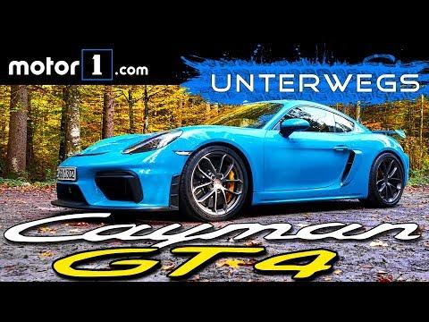 Bester Sportwagen aller Zeiten? Porsche 718 Cayman GT4 | UNTERWEGS mit Daniel Hohmeyer