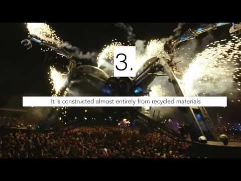 8 Cool Facts About The Arcadia Spider Stage at Ultra Music Festival
