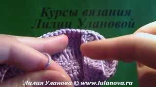 Пинетки Сандалики Мини - 2 часть - Crochet baby's bootees sandals - вязание крючком