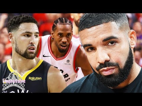 Drake is banned from Warriors games  Drake shades Klay Thompson and reacts to Raptors win