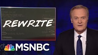 Lawrence Rewrites Fox News Re: John Kelly | The Last Word | MSNBC