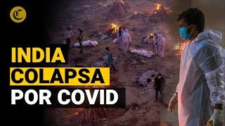 Coronavirus: Cremaciones masivas en la India, mientras supera el récord mundial de casos diarios