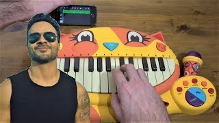 DESPACITO BUT I PLAYED IT ON MY IPHONE AND ON A CAT PIANO thumbnail