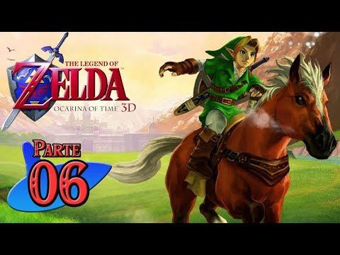 Zelda Ocarina of Time 3D Guía 100% (HD) #6 Templo del Agua