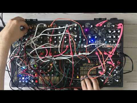 first patch with Make Noise Shared System modular synth by