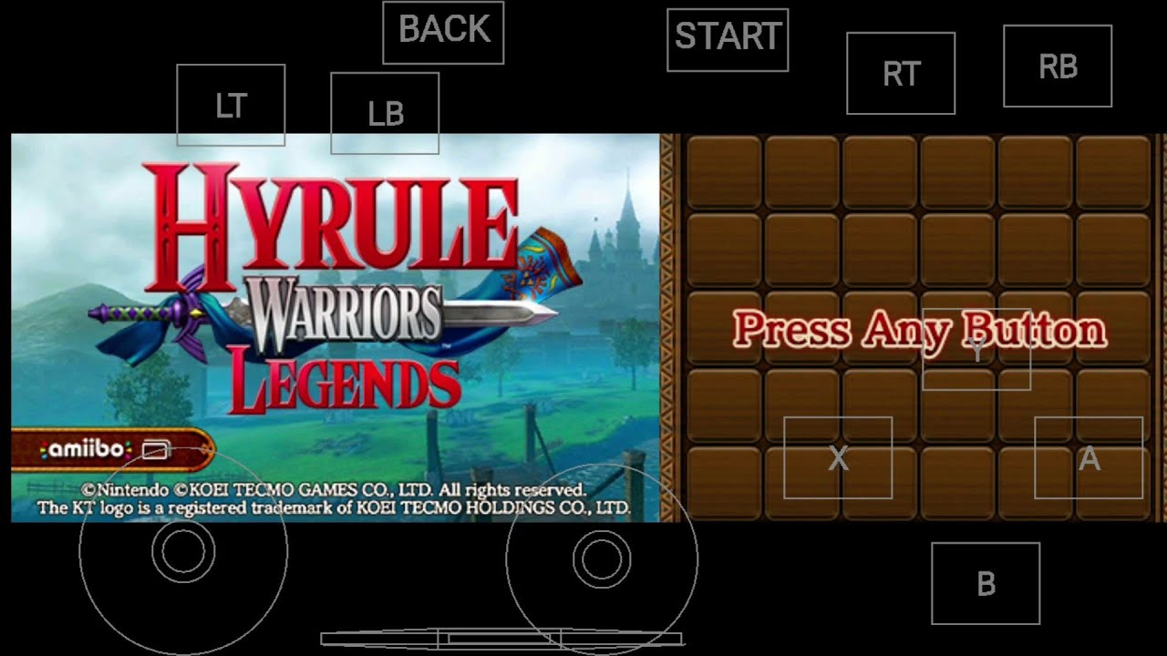 Citra 3ds Emulator On Android Hyrule Warriors Legends 3d Moonlight Apk Youtube