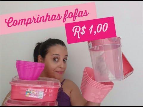 comprinhas na loja de R$ 1,00 #projetodonasdolar