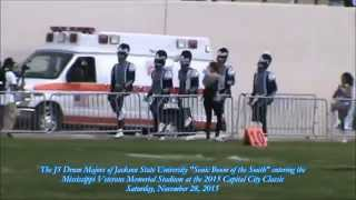"""The J5 Drum Majors of Jackson State Sonic Boom of the South """"Get Ready"""" - 2015 Capital City Classic"""