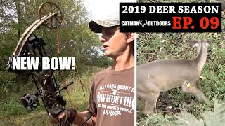 Got a NEW BOW and Shot a Deer Already! [And saw a SHOOTER BUCK] - 2019 Deer Season, Ep. 09