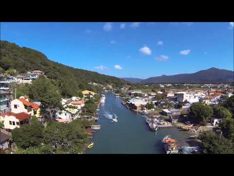 Canal Barra da Lagoa Florianópolis Brasil