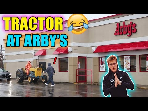 Ars Drive Thru On A Tractor