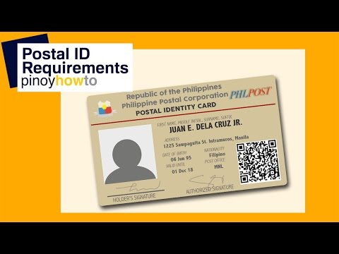 Postal ID Requirements : How to get Postal ID and its requirements | PinoyHowTo