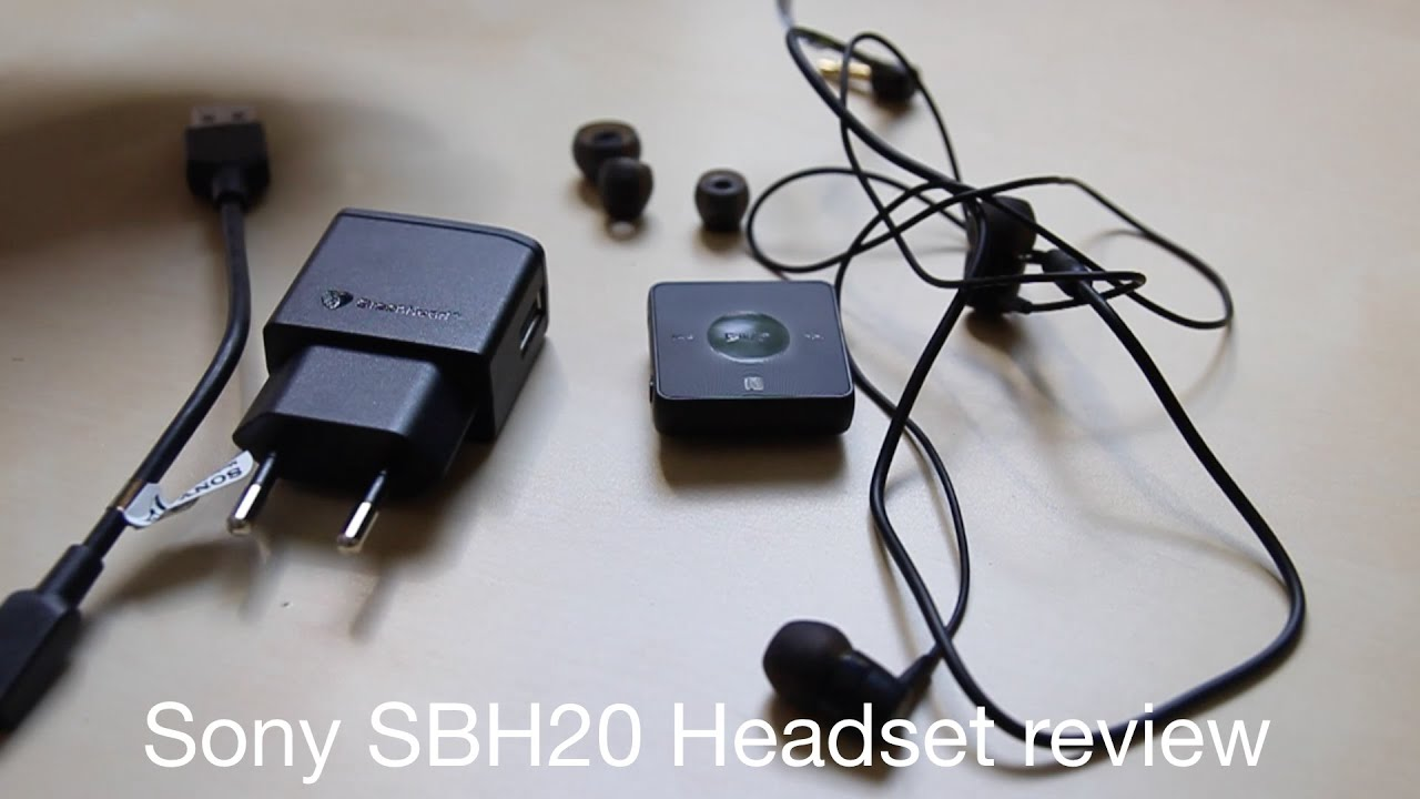 f9a22345d91 Sony SBH20 Bluetooth & NFC Headset review with Sony Smartwatch 3 ...