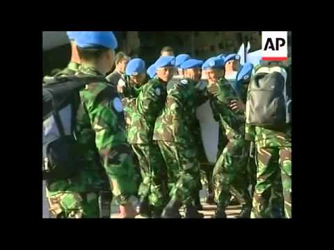 First Indonesian peacekeeping troops arrive in Beirut