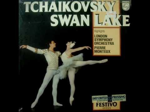 Tchaikovsky: Swan Lake (Highlights) (Monteux/London Synphony Orch. - 1962 Vinyl LP)