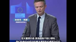 欧盟委员会警告:应对疫情的措施不能损害民主