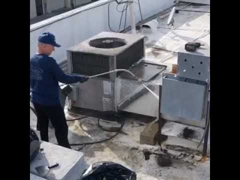 Kitchen Exhaust Cleaning Process - Cleaning an Exhaust Fan