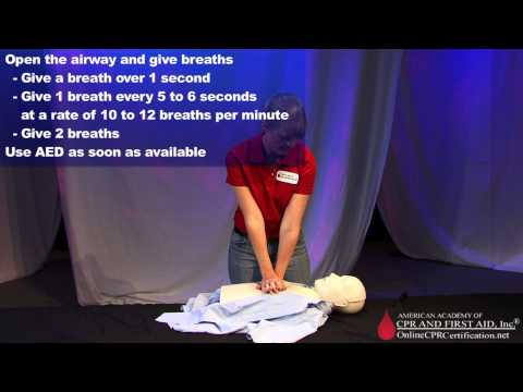 Adult CPR Training Video - How to Do CPR