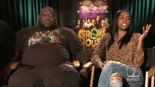 #GrowHouse actress goes off on #BlackTreeTV while Faizon Love instigates