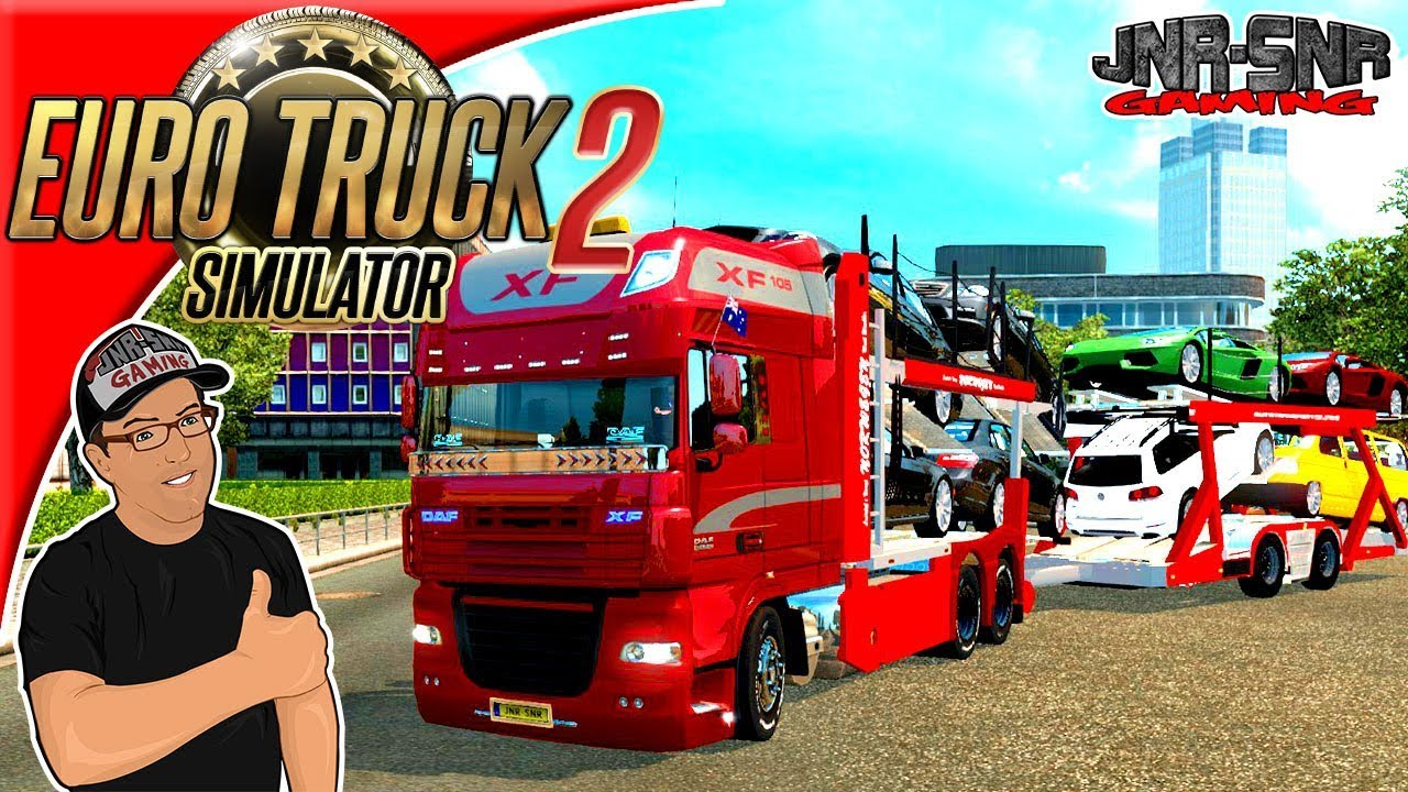 Euro Truck Simulator 2 Mods Daf Xf Car Carrier Mod Review Youtube
