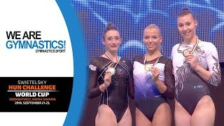 2018 Szombathely Artistic Gymnastics World Challenge Cup – Highlights Women