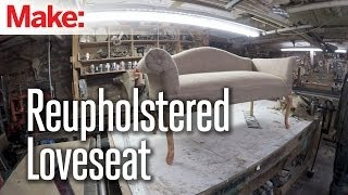 Diresta: Reupholstered Loveseat