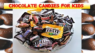 CHOCOLATES CANDIES FOR KIDS || SKITTLES ||