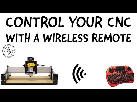 How To Control Your CNC With A Wireless Remote - Myers Woodshop