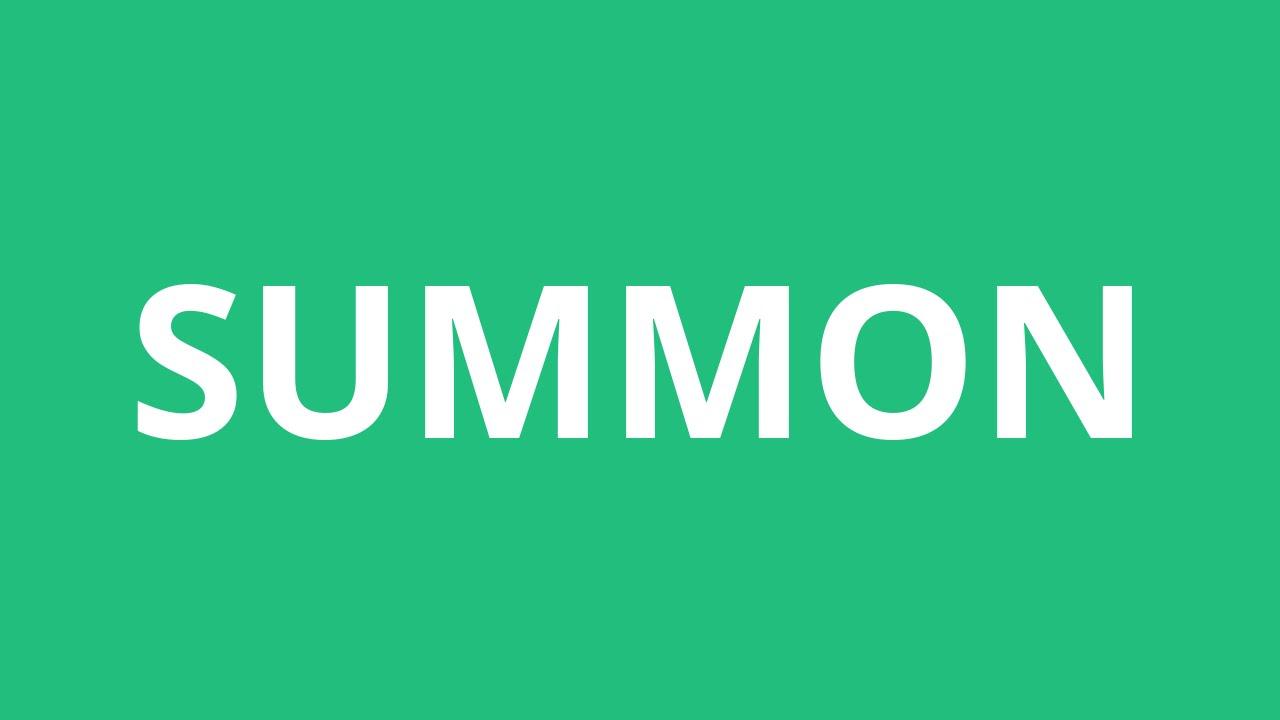 How To Pronounce Summon - Pronunciation Academy