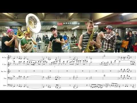 Transcription - Lucky Chops: Stand By Me