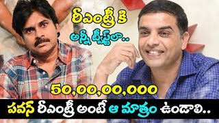 Dil Raju Announces Movie With Pawan Kalyan || Re-Entry || Pawan New Movie Updates || TopTelugu Media