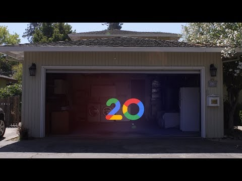 Explore Google's original garage with Street View