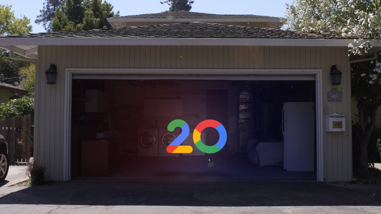 explore google s original garage with street view youtube