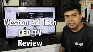 Weston 32 Inch LED TV India Unboxing and Review