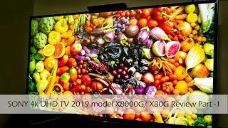 Sony Bravia 4K UHD TV 2019 model X8000G or X80 review Part 1| SpecsNex