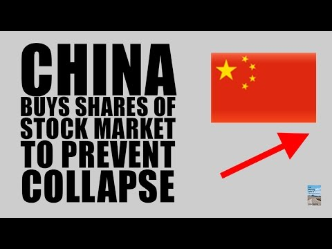 China Stock Market CRASHING as Central Bank Buying Shares to Prevent COLLAPSE!