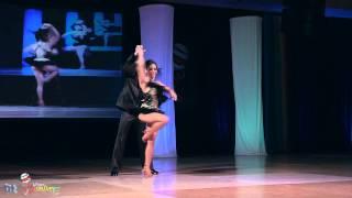 Jose Serrano & Charlotte Serrano - cabaret semifinals - World Latin Dance Cup 2011