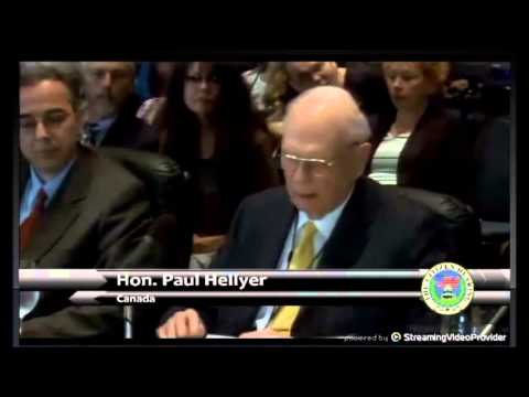 Paul Hellyer former Minister of Defense of Canada reveals UFO / Aliens