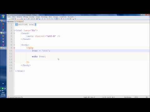 Comprendre l'encodage: UTF-8 / ISO avec PHP et HTML