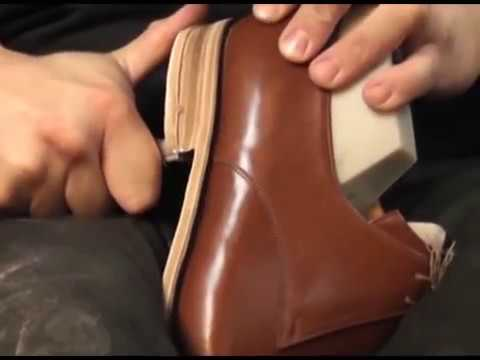 Basic Shoemaking Method - The Cemented Construction