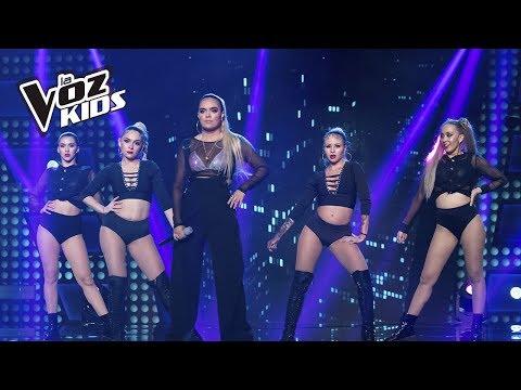 Karol G canta Pineapple   La Voz Kids Colombia 2018