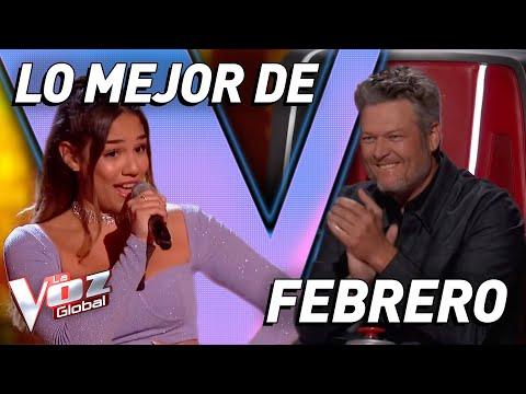 LO MEJOR DE FEBRERO 2020 en La Voz y La Voz Kids