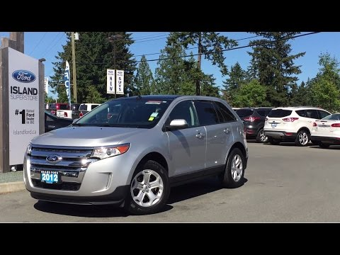 2012 Ford Edge SEL +Nav Review   Island Ford