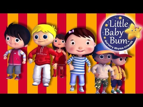 Here We Go Looby Loo | Nursery Rhymes | By LittleBabyBum!