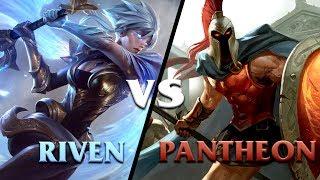 Hướng dẫn Riven đối đầu với Pantheon - HyNam