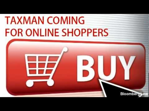 Taxman Coming for Online Shoppers