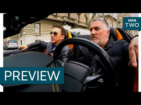 Paul Hollywood & Bruno Tonioli take Rome - Paul Hollywood's Big Continental Road Trip: Ep1 - BBC