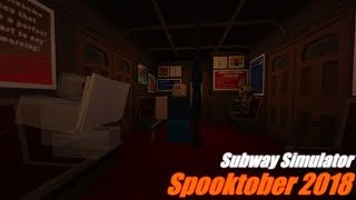 ROBLOX Subway Simulator Spooktober