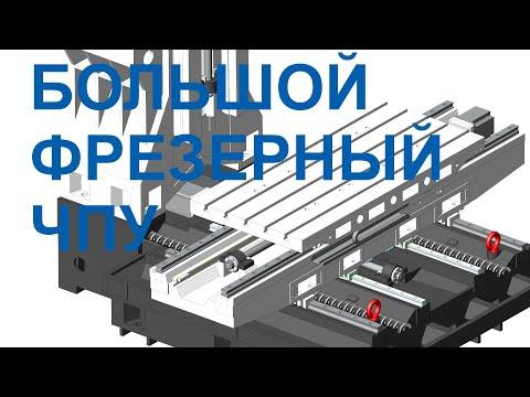 ФС160МФ3 фрезерный обрабатывающий центр обзор  для машиностроительных предприятий -  ТвСЗ